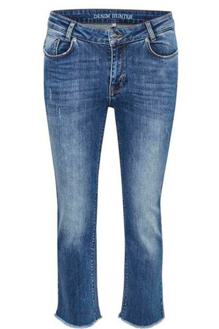 DENIM HUNTER Almo 10702433 Medium Wash Straight Custom