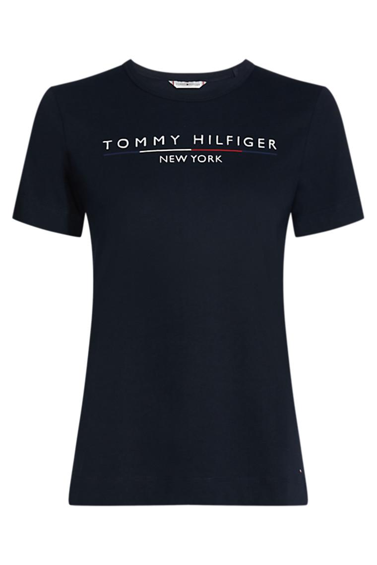 TOMMY HILFIGER CHRISTA C-NK 25603 Navy