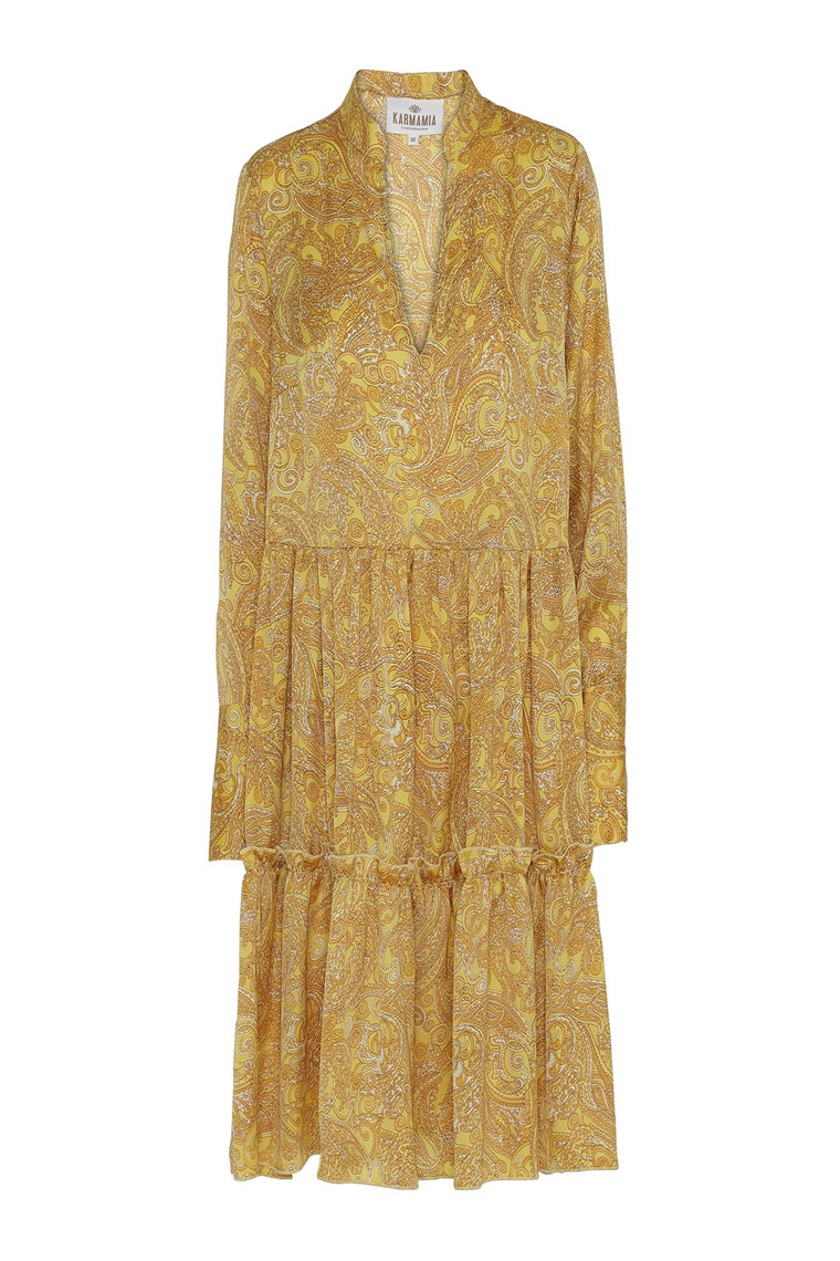 KARMAMIA MABEL DRESS Yellow