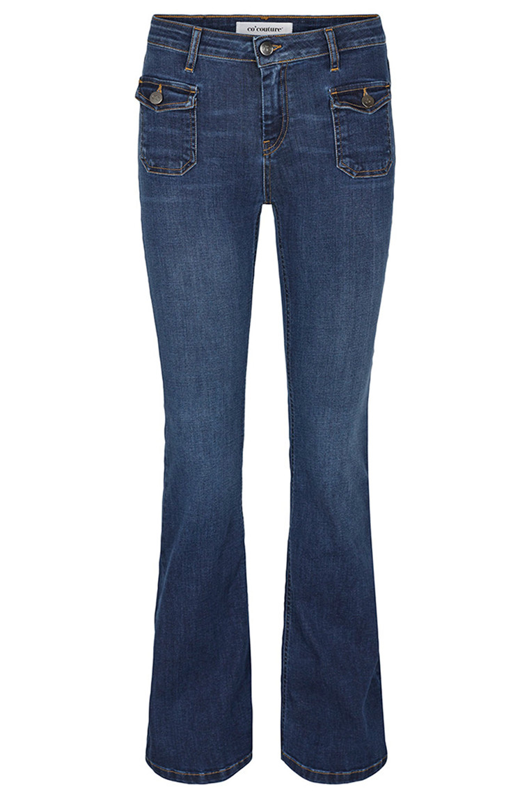 CO'COUTURE SAINT BOOT CUT 91023 BLÅ DENIM