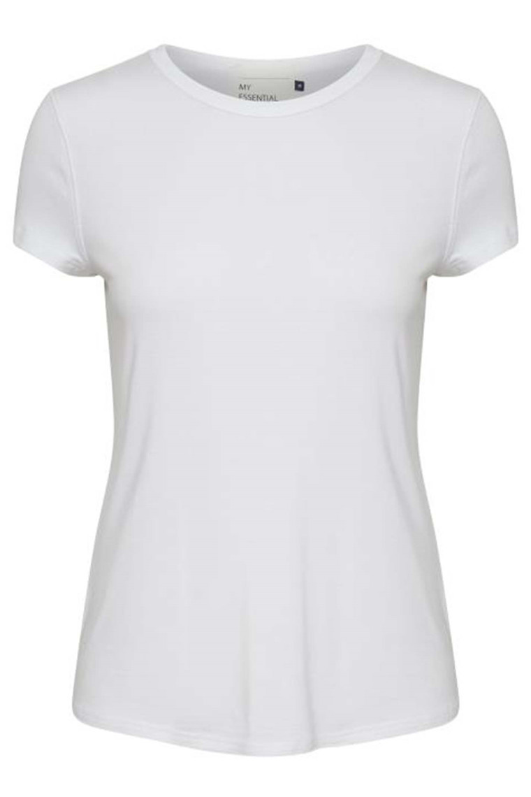 DENIM HUNTER 10702823 THE MODAL TEE Optical White