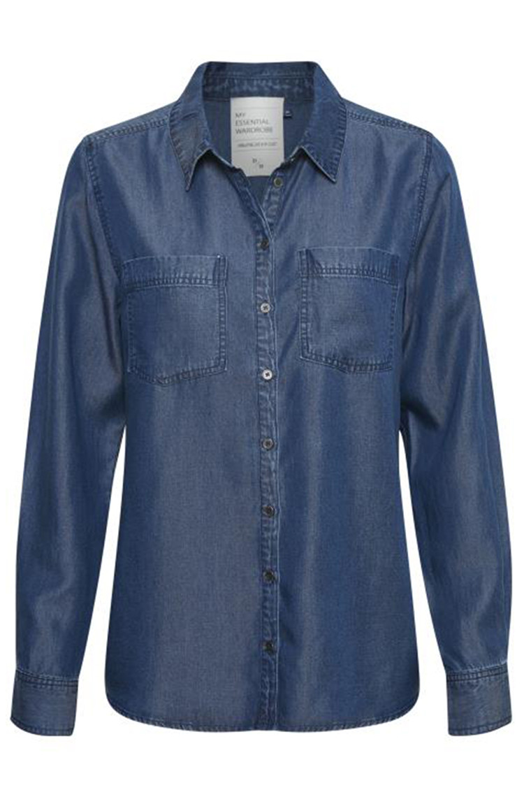 DENIM HUNTER 10702836 THE DENIM SHIRT Denim Blue
