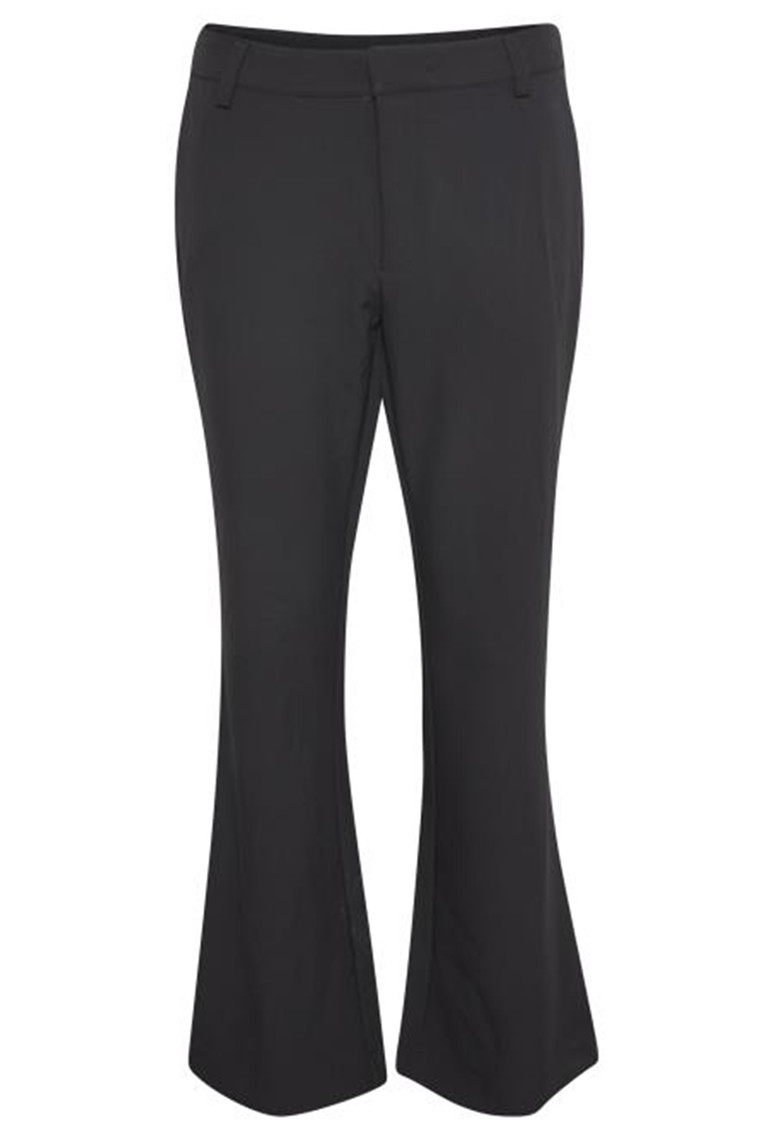 DENIM HUNTER 10702905 THE BLACK FLARED PANT Black
