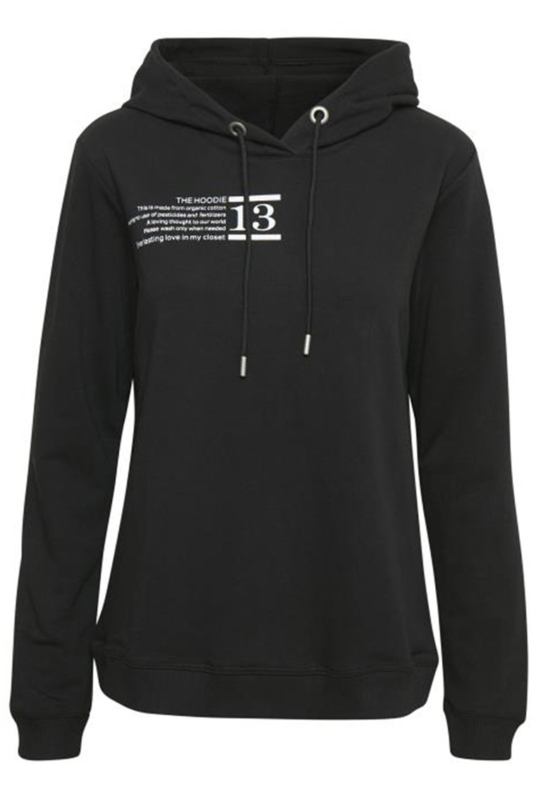 DENIM HUNTER 10702932 THE HOODIE Black