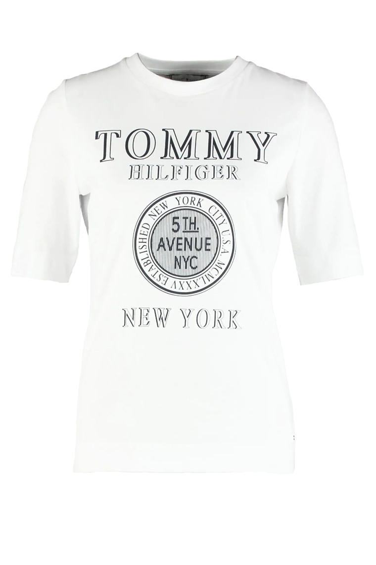 TOMMY HILFIGER DARCY C-NK 25174 HVID