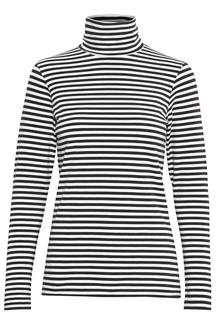 PART TWO Taeko 30304500 Striped jersey, dark blue.