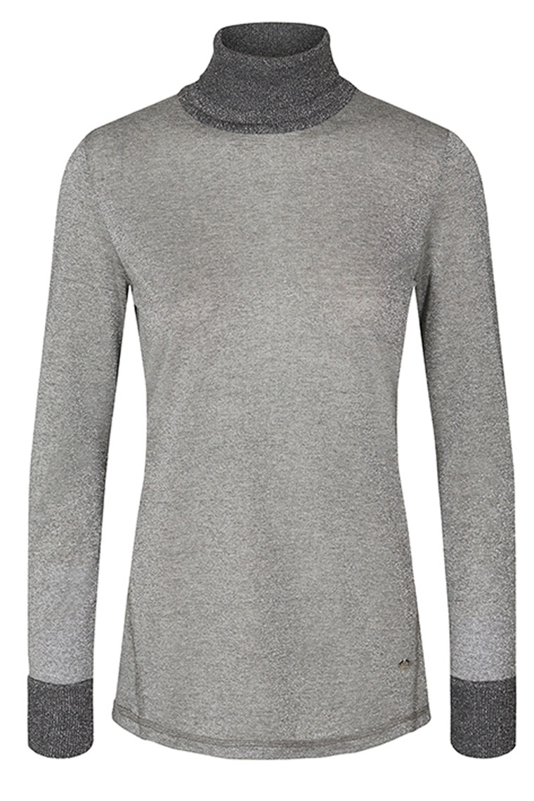 MOS MOSH CASIO ROLL-NECK 128890 Grey Melange