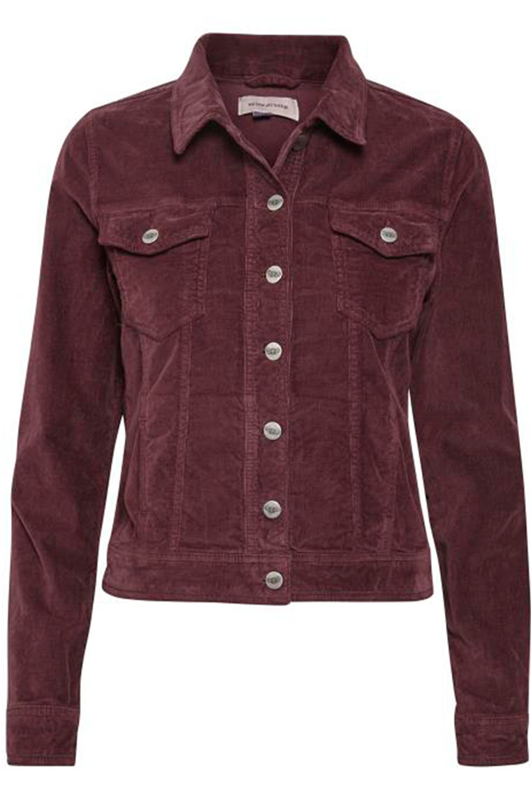 DENIM HUNTER 10702542 Molly Jacket Vineyard Wine