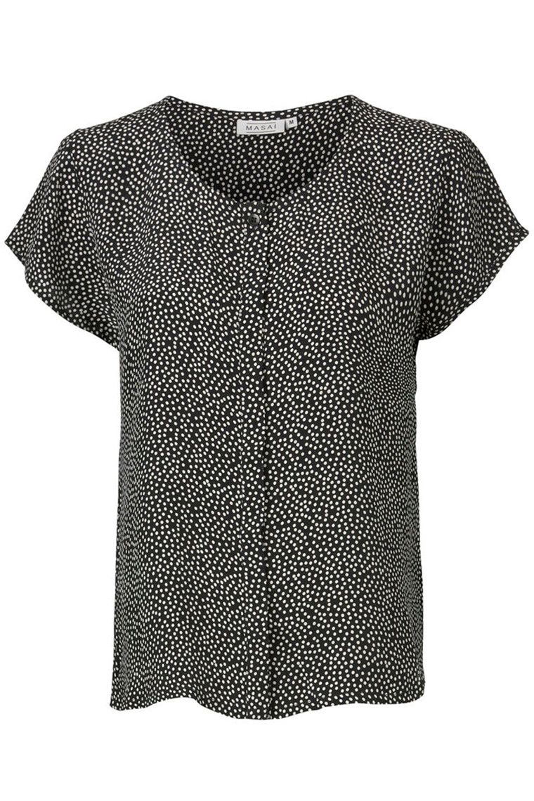 MASAI IA FITTED 193680761 Dot print, Black.