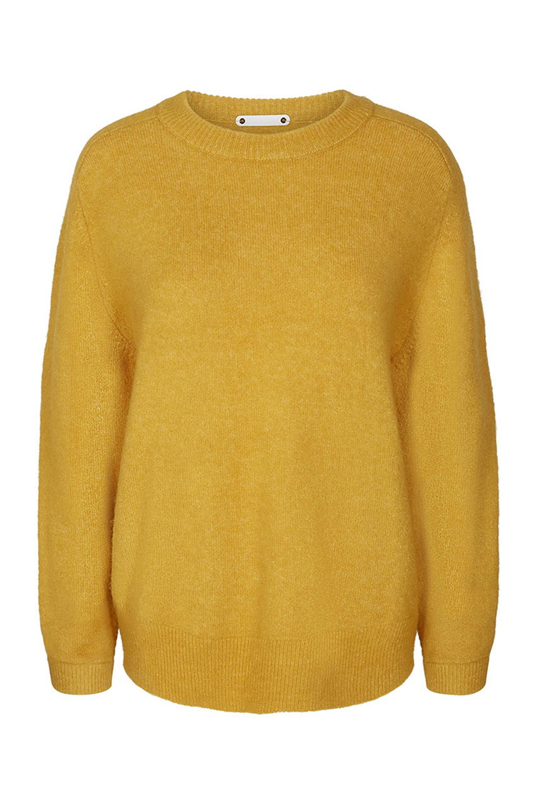 CO'COUTURE SOUL O-NECK 1 92010 MUSTARD