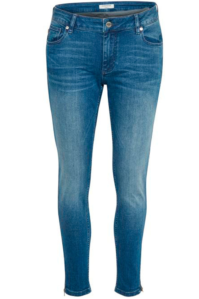 DENIM HUNTER Celina Zip 10702933 Medium Blue Vintage Wash custom