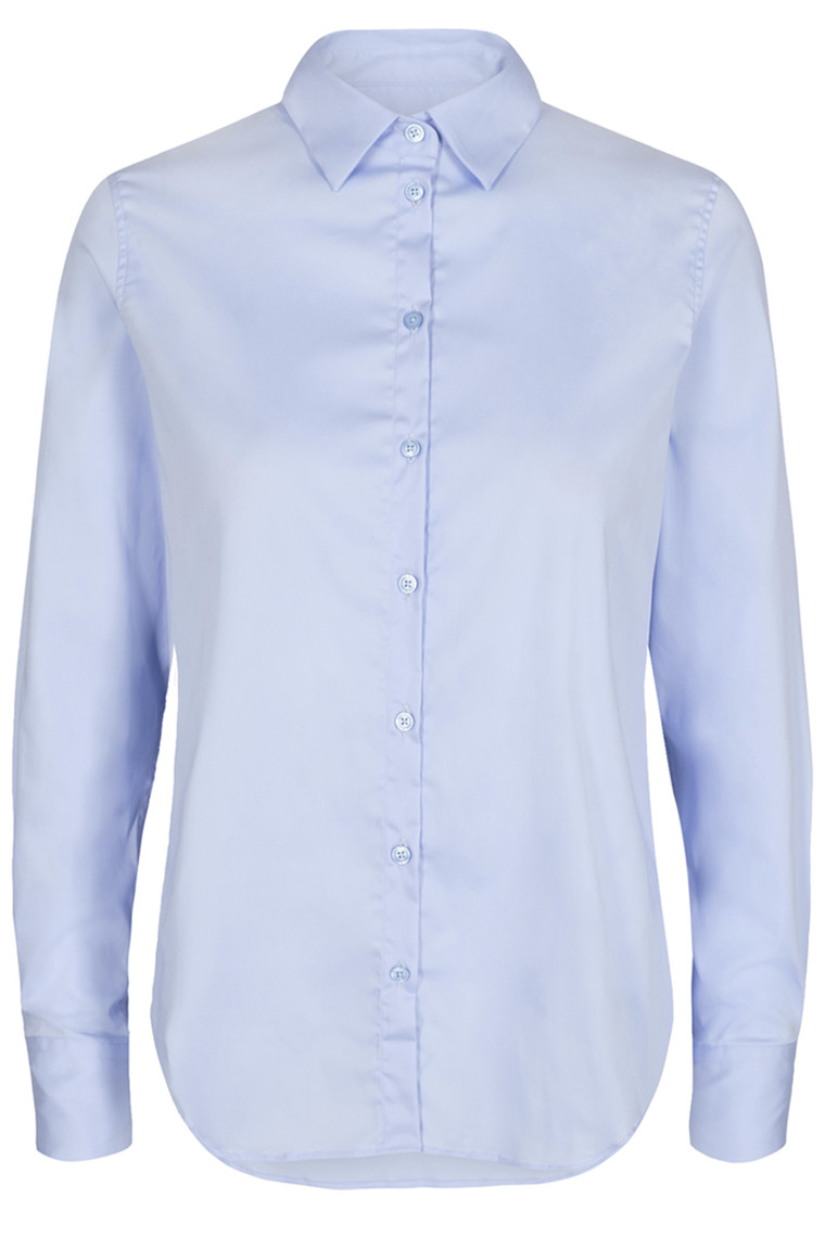 MOS MOSH Martina Sustainable Shirt 131730 Light Blue