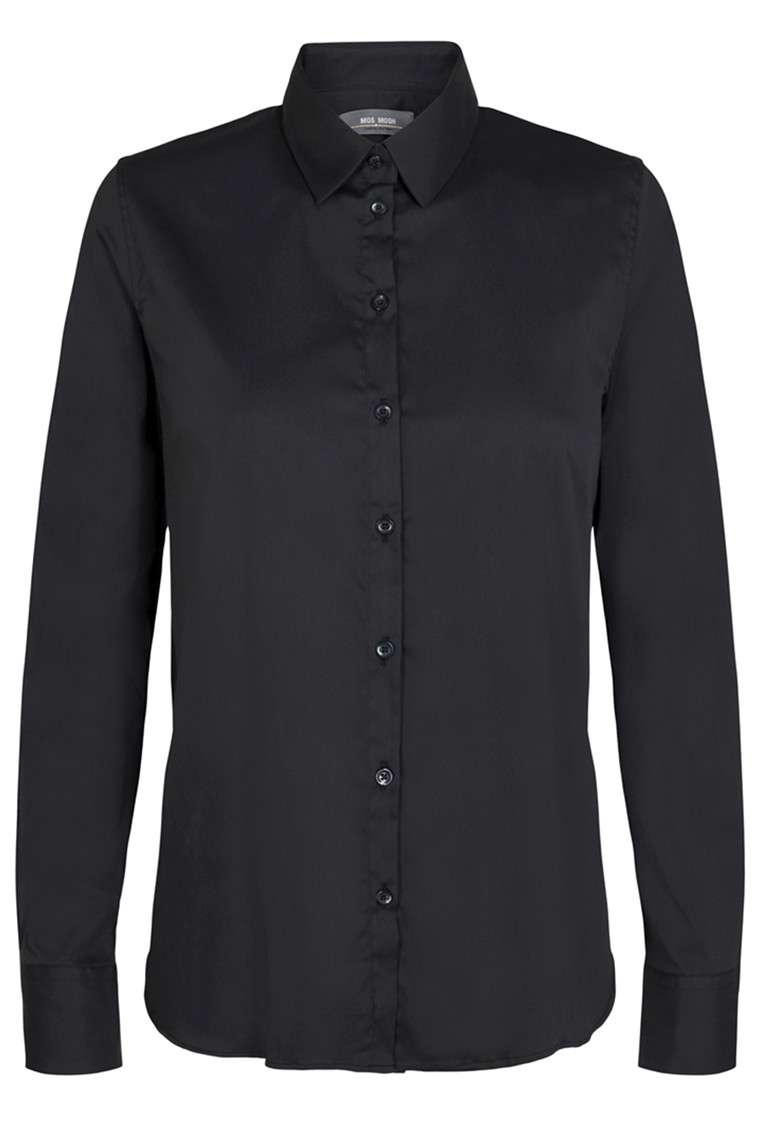 MOS MOSH Martina Sustainable Shirt 131730 Black