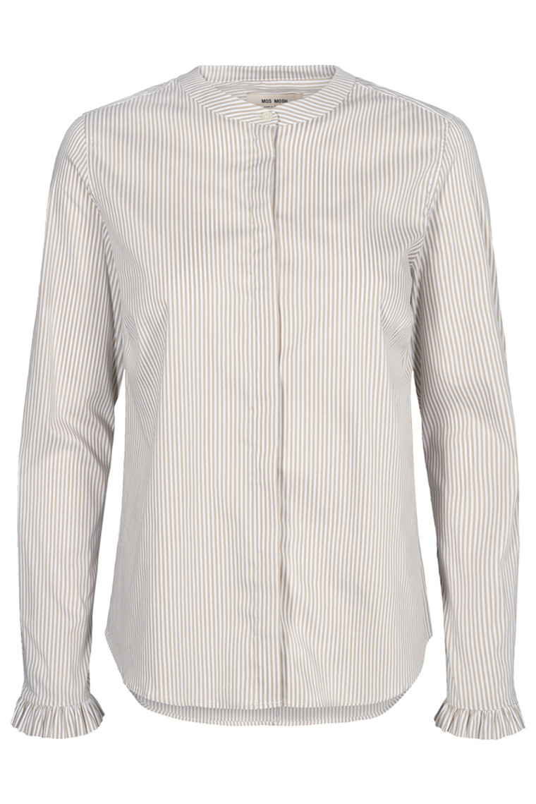 MOS MOSH Mattie Stripe Shirt 126030 Safari Stripe