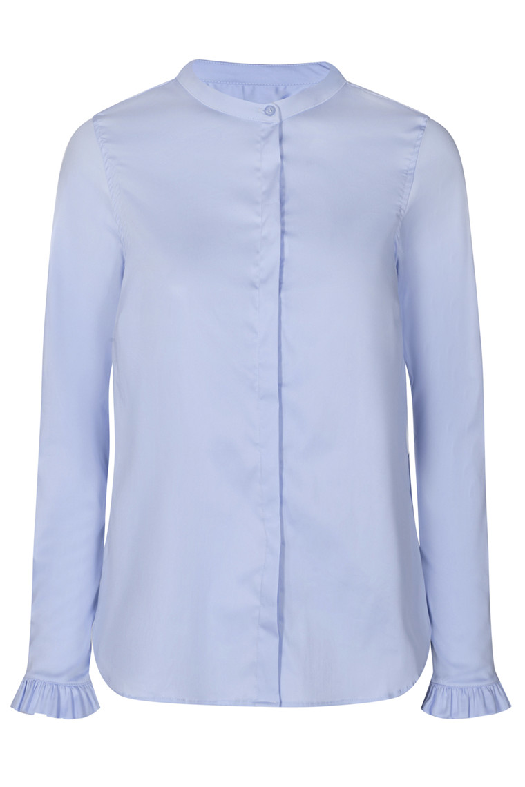 MOS MOSH Mattie Sustainable Shirt 131731 Light Blue