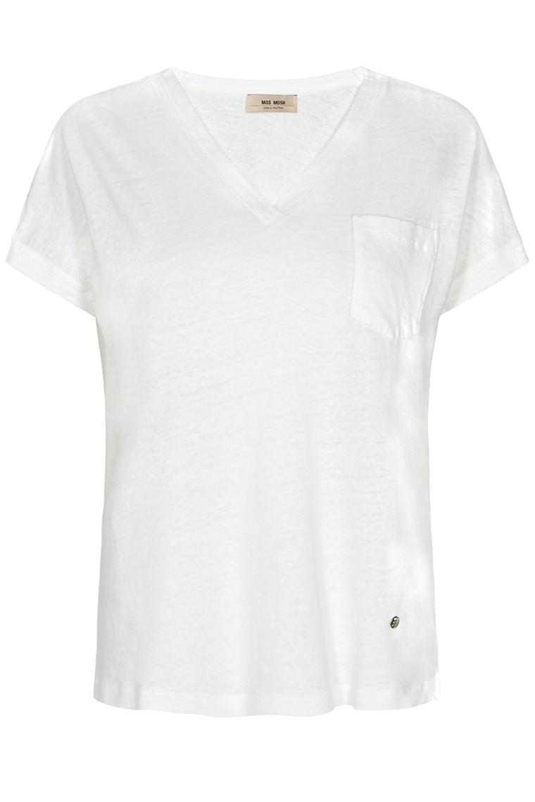 MOS MOSH V-neck 131910 White