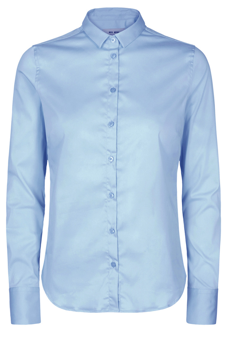 MOS MOSH Tilda Sustainable Shirt 131700 Light Blue
