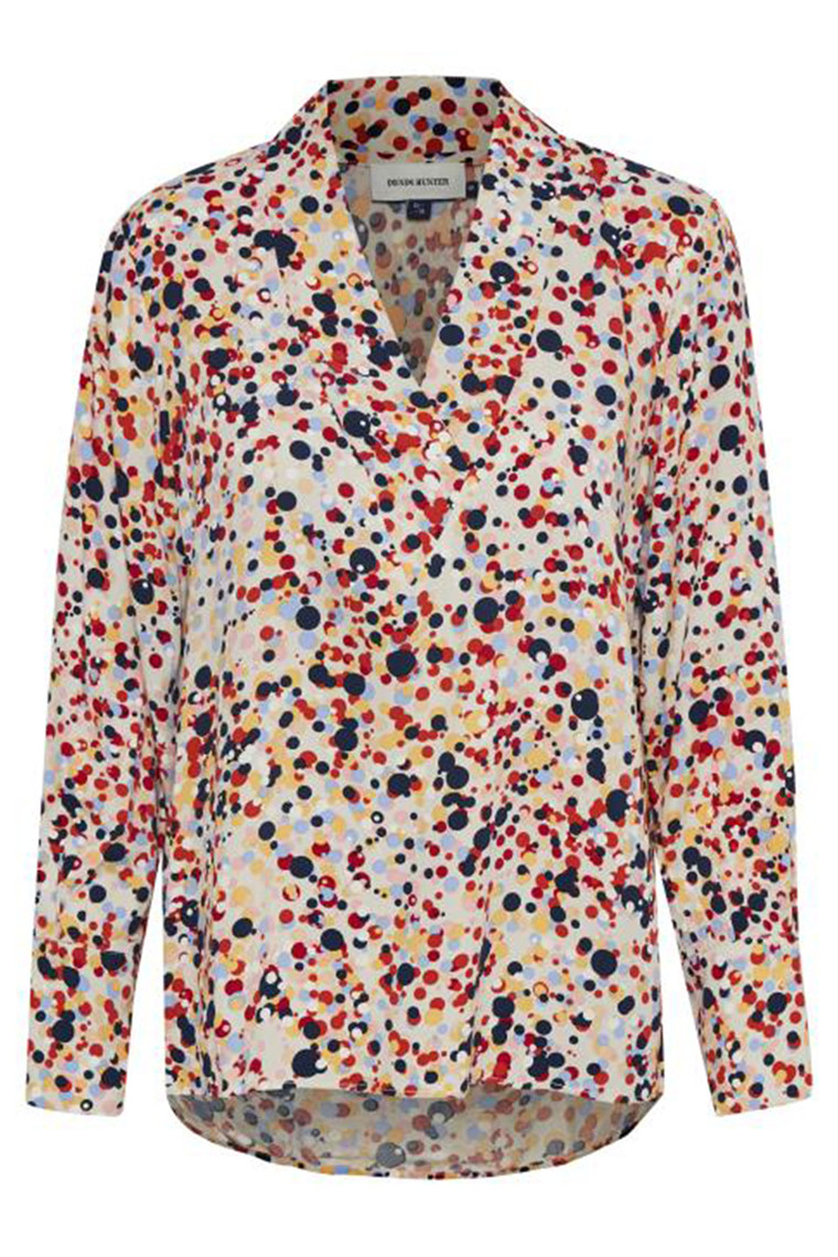 DENIM HUNTER 10702657 Hope Dot Blouse Multi colour