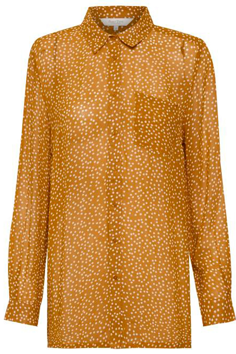 PART TWO Abia 30304831 Dot print, Pumpkin Spice.