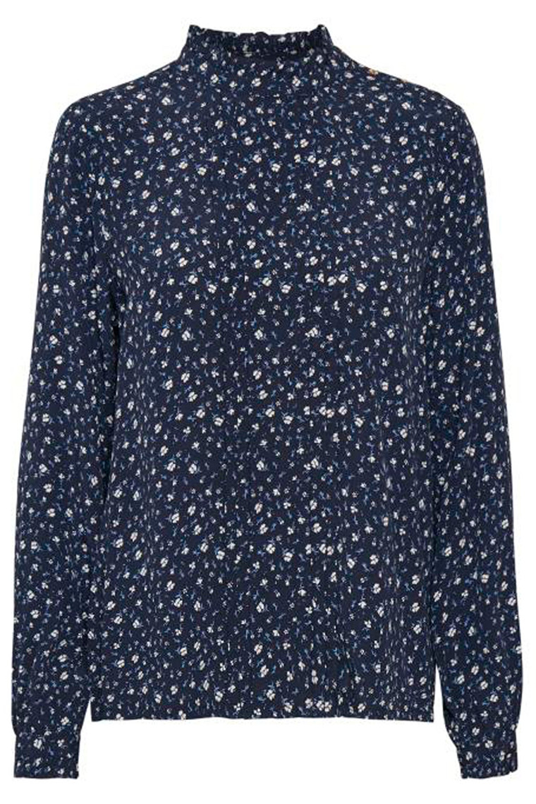 PART TWO Acacia 30304832 Mini flower Print, dark Navy.