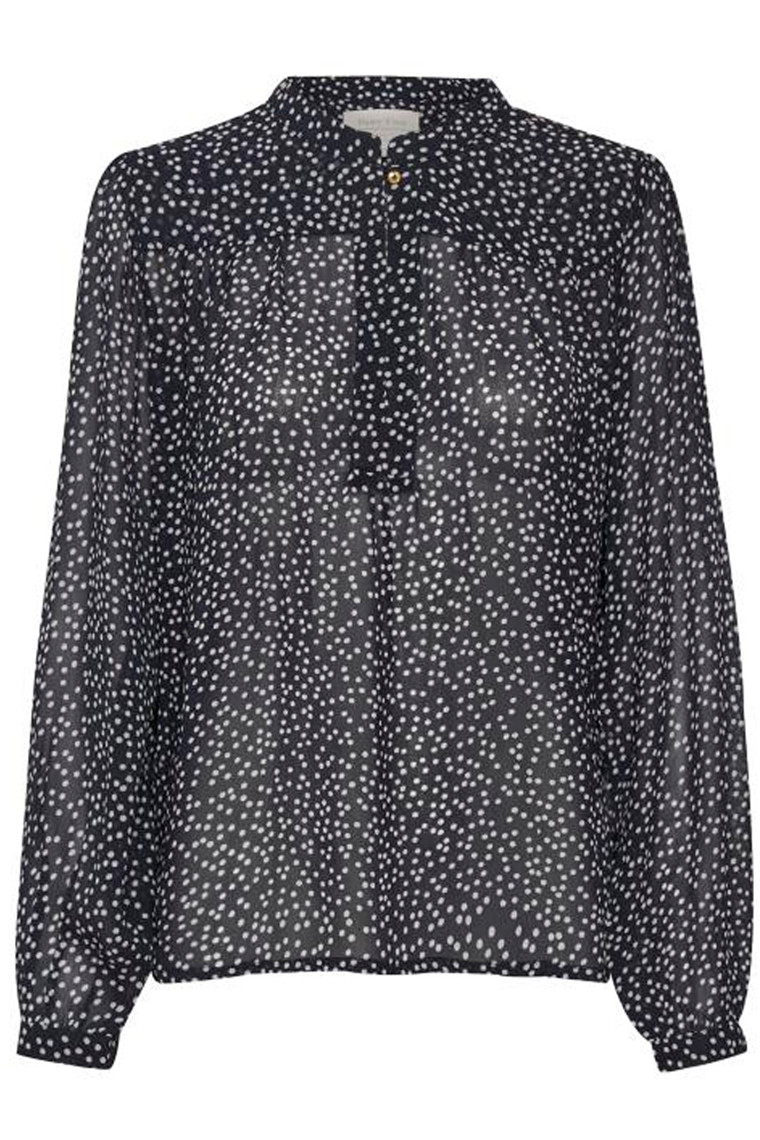 PART TWO Aberte 30304859 Dot print, Dark Navy.