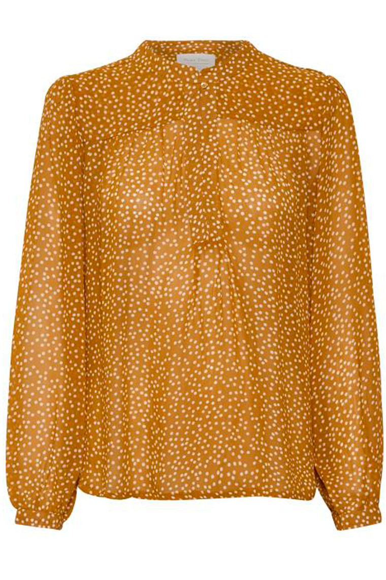 PART TWO Aberte 30304859 Dot print, Pumpkin Spice.