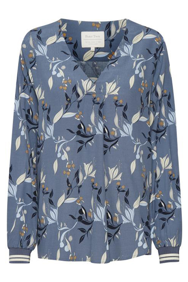 PART TWO 30305040 Japanese print, Blue