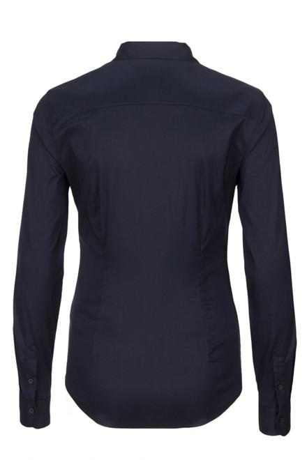 TOMMY HILFIGER AMY STR SHIRT LS W1 Navy