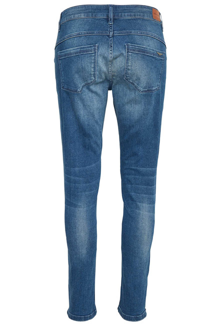 DENIM HUNTER CELINA ZIP CUSTOM 10701141 BLÅ DENIM