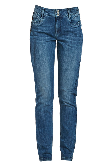 DENIM HUNTER REGITZE CURVED 10701678 BLÅ DENIM