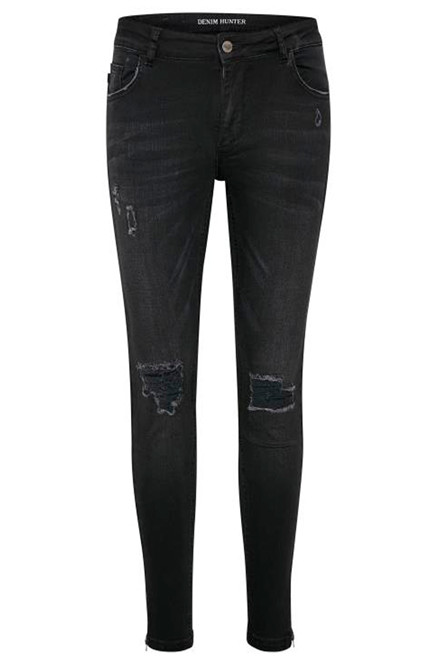 DENIM HUNTER CELINA ZIP TORN 10701894 SORT
