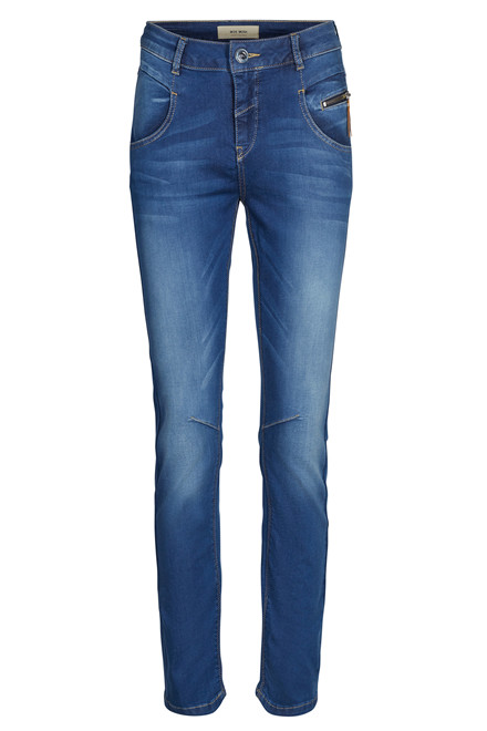 MOS MOSH NELLY SATEEN 126990 BLÅ DENIM