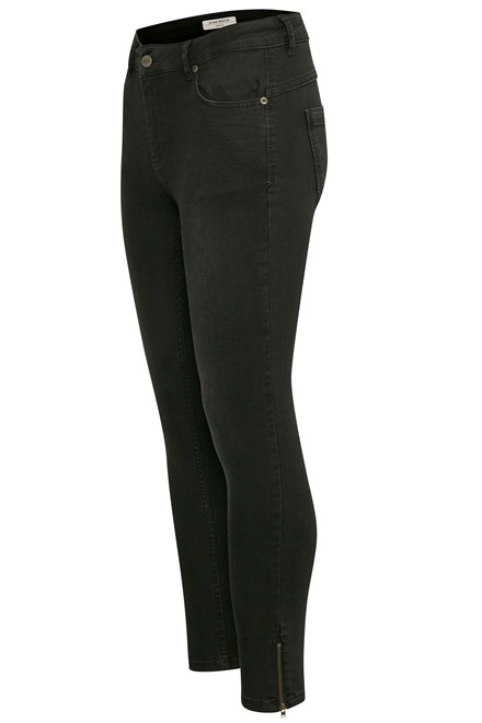 DENIM HUNTER 10701141 Celina zip Custom Black Washed