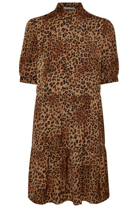 GESTUZ JANEGZ 10903238 Leopard Print, brown.