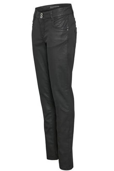 DENIM HUNTER 10702504 Regitze Coated Curved coated black