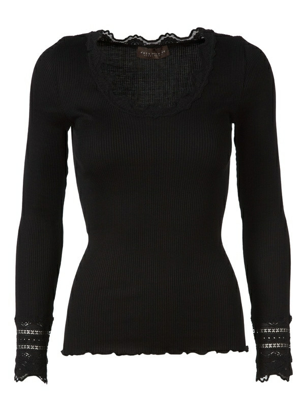 9a68daa2 Model 5316 sort - Rosemunde bluse - FRI FRAGT!