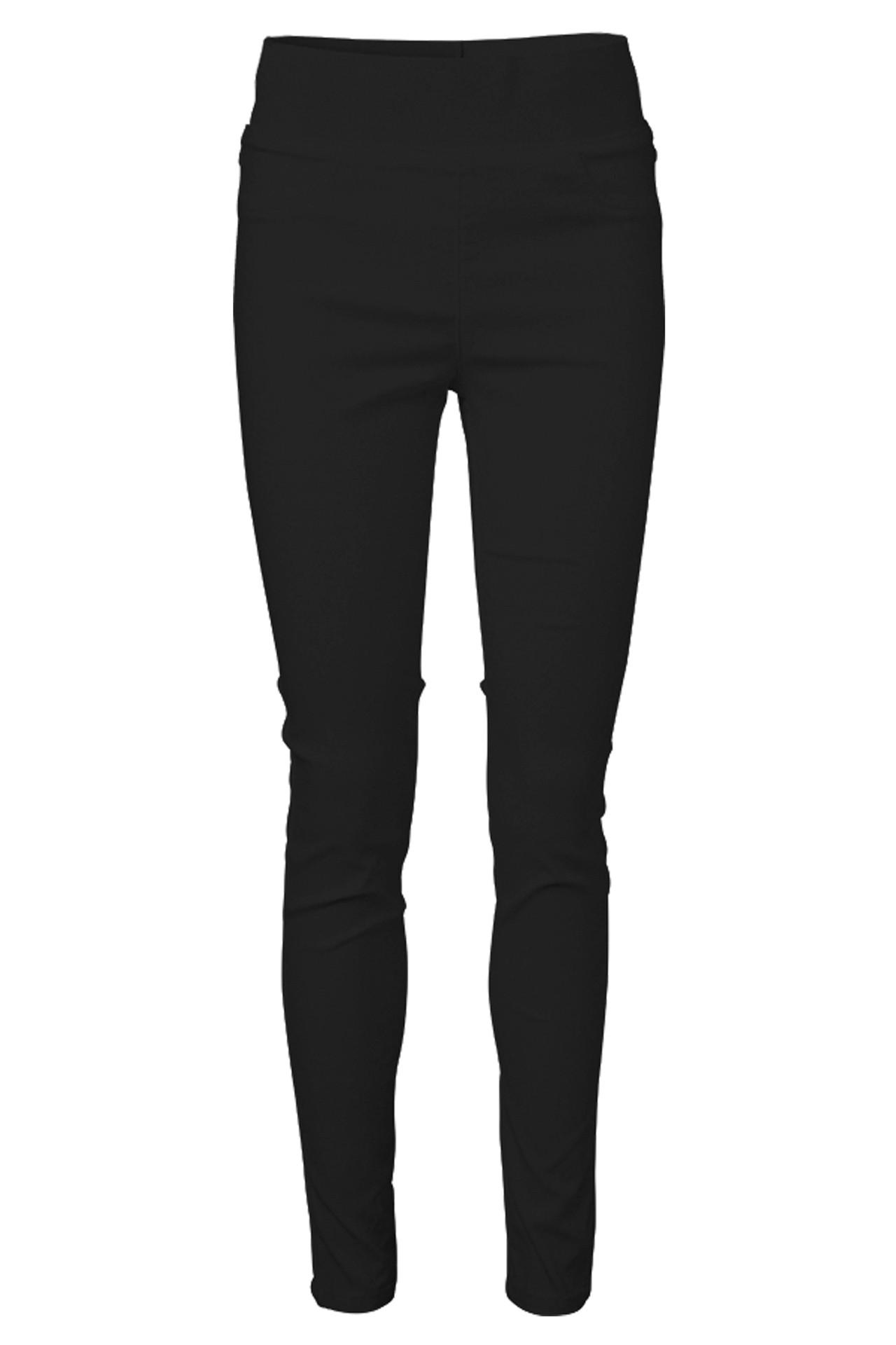 5a4164a9 SHANTAL-PA-POWER SORT bukser fra Freequent - Køb bukser online her