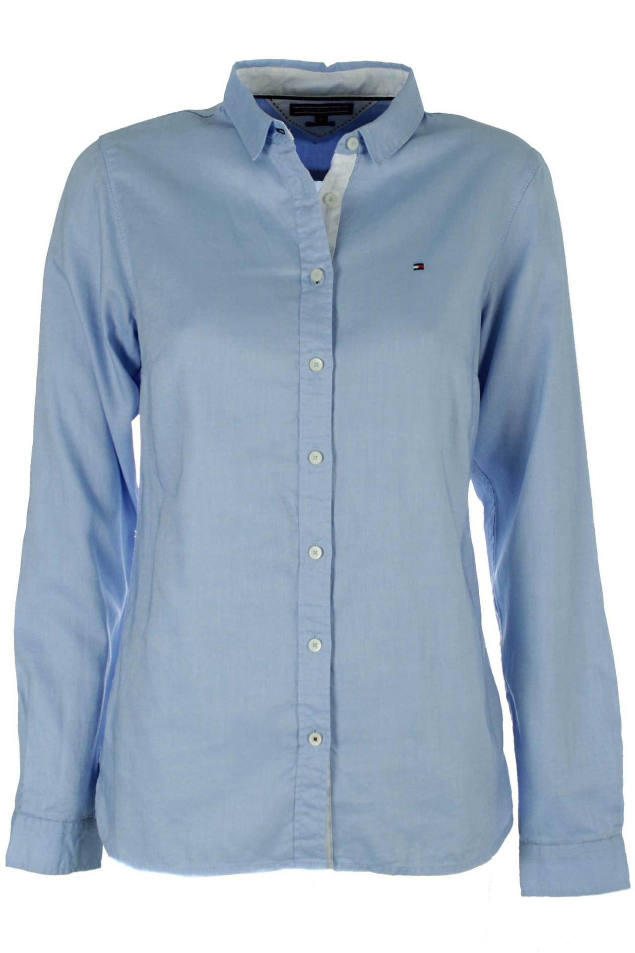 e55bec85c77 JENNA SHIRT LS W2 LYSEBLÅ skjorte fra Tommy Hilfiger - Køb skjorte ...