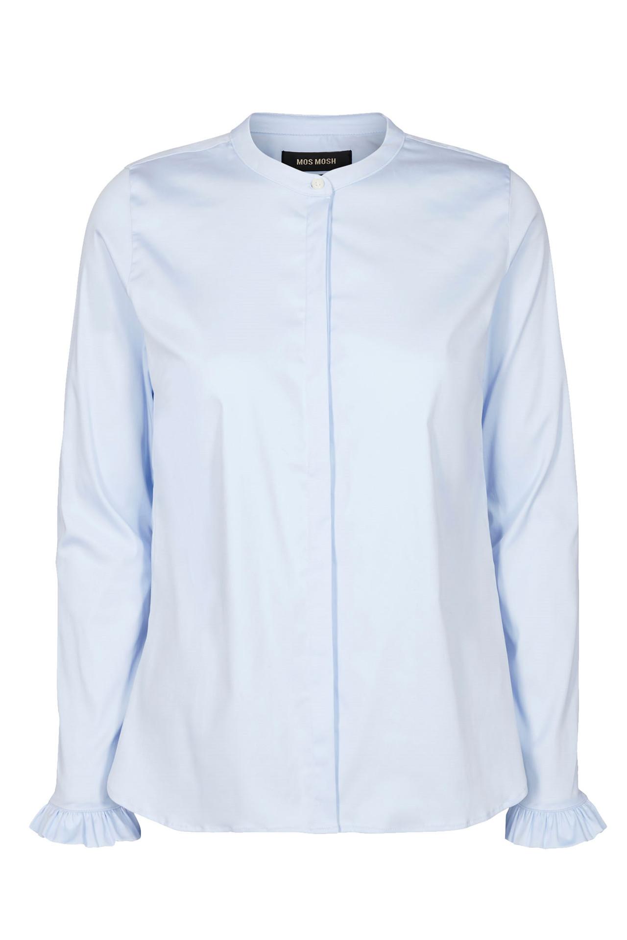 c16de84da61 MATTIE 119190 lyseblå skjorte fra Mos Mosh - Køb skjorte online her