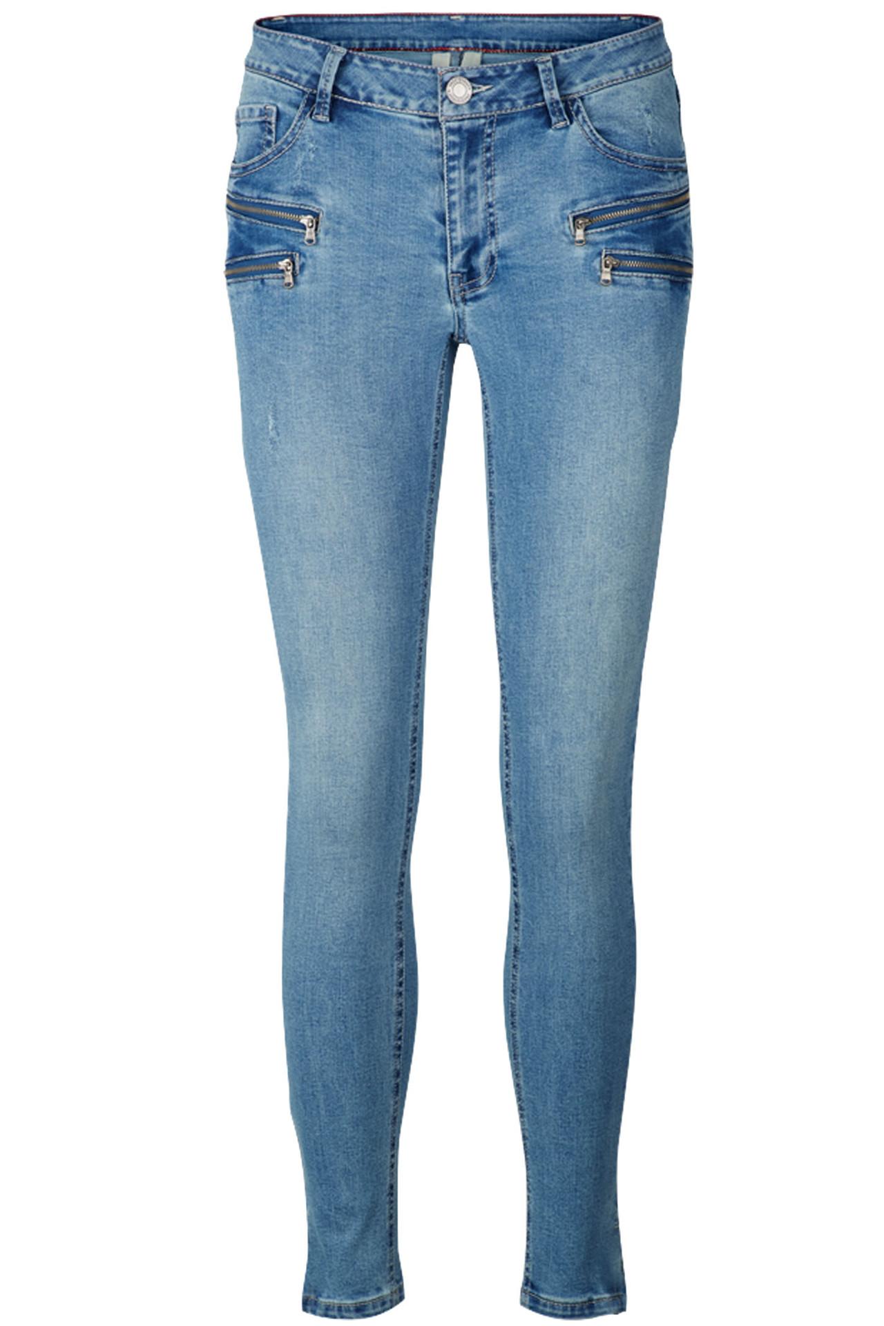 3a1cf511 AIDA-JE-DENIM BLÅ DENIM bukser fra Freequent - køb bukser online her