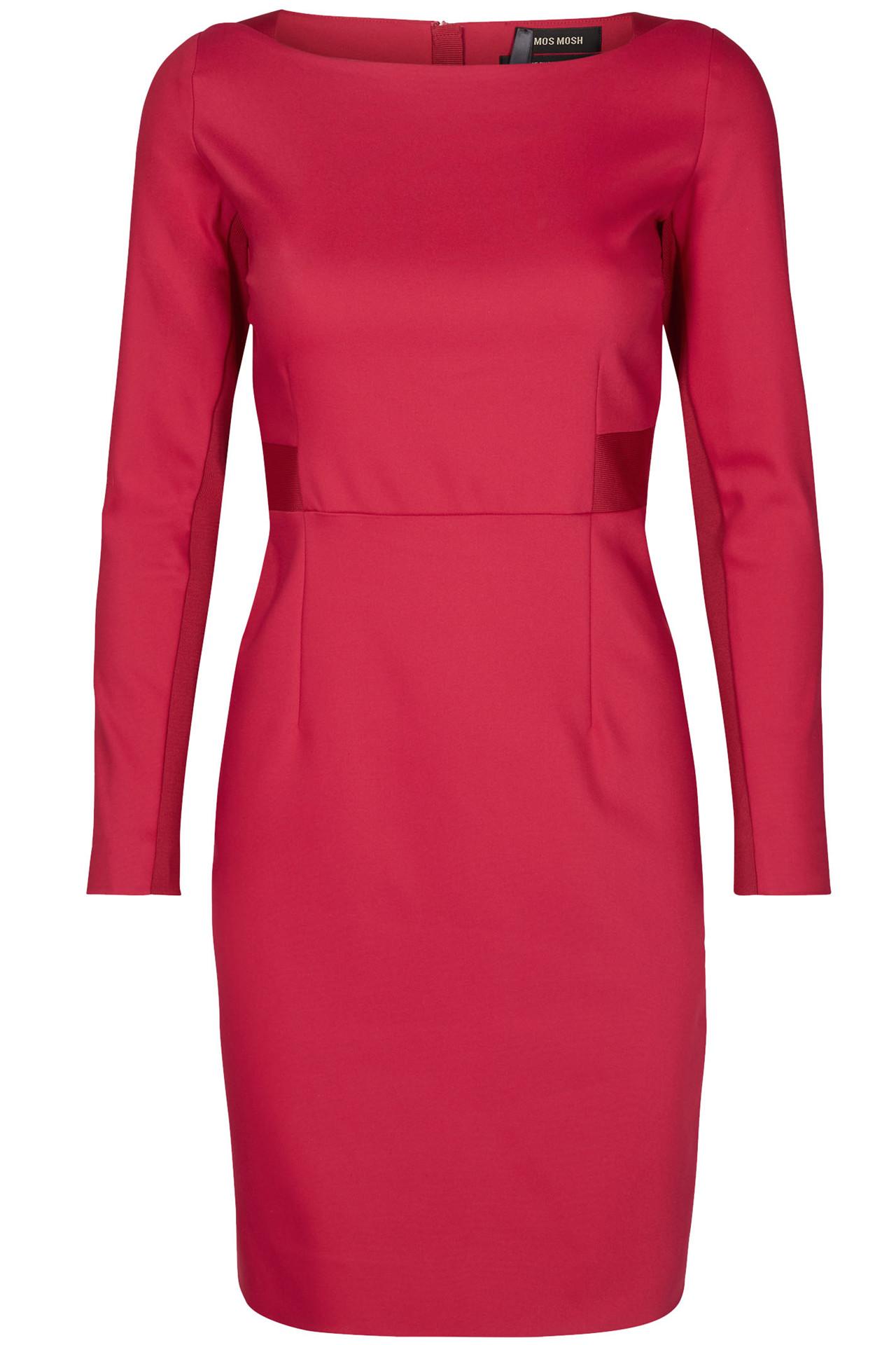 00d47695 BLAKE NIGHT DRESS 120590 cherry kjole fra Mos Mosh - Køb kjole ...