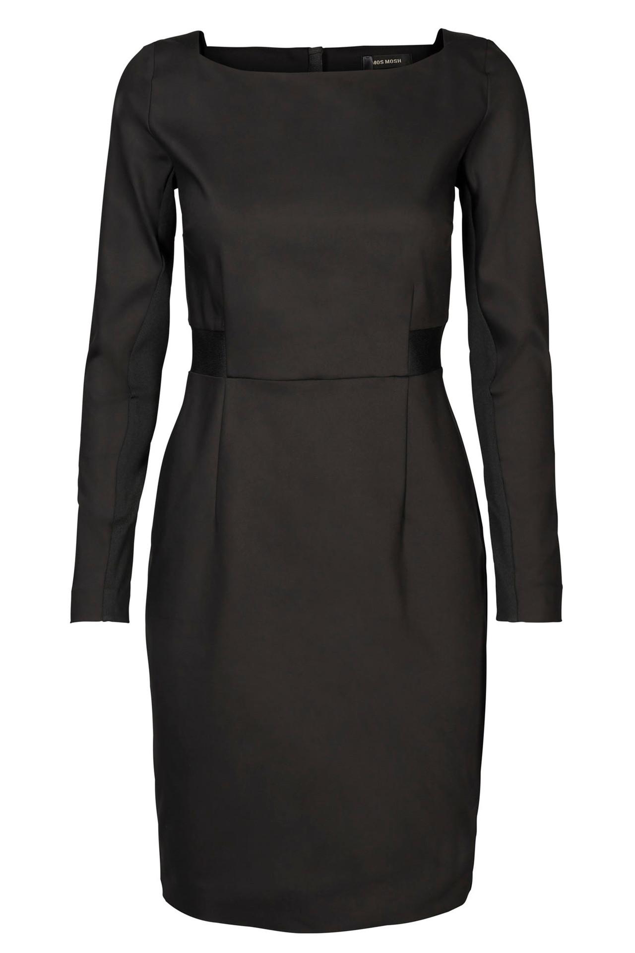 e4d5b8cc BLAKE NIGHT DRESS 120590 SORT kjole fra Mos Mosh - Køb kjole online her