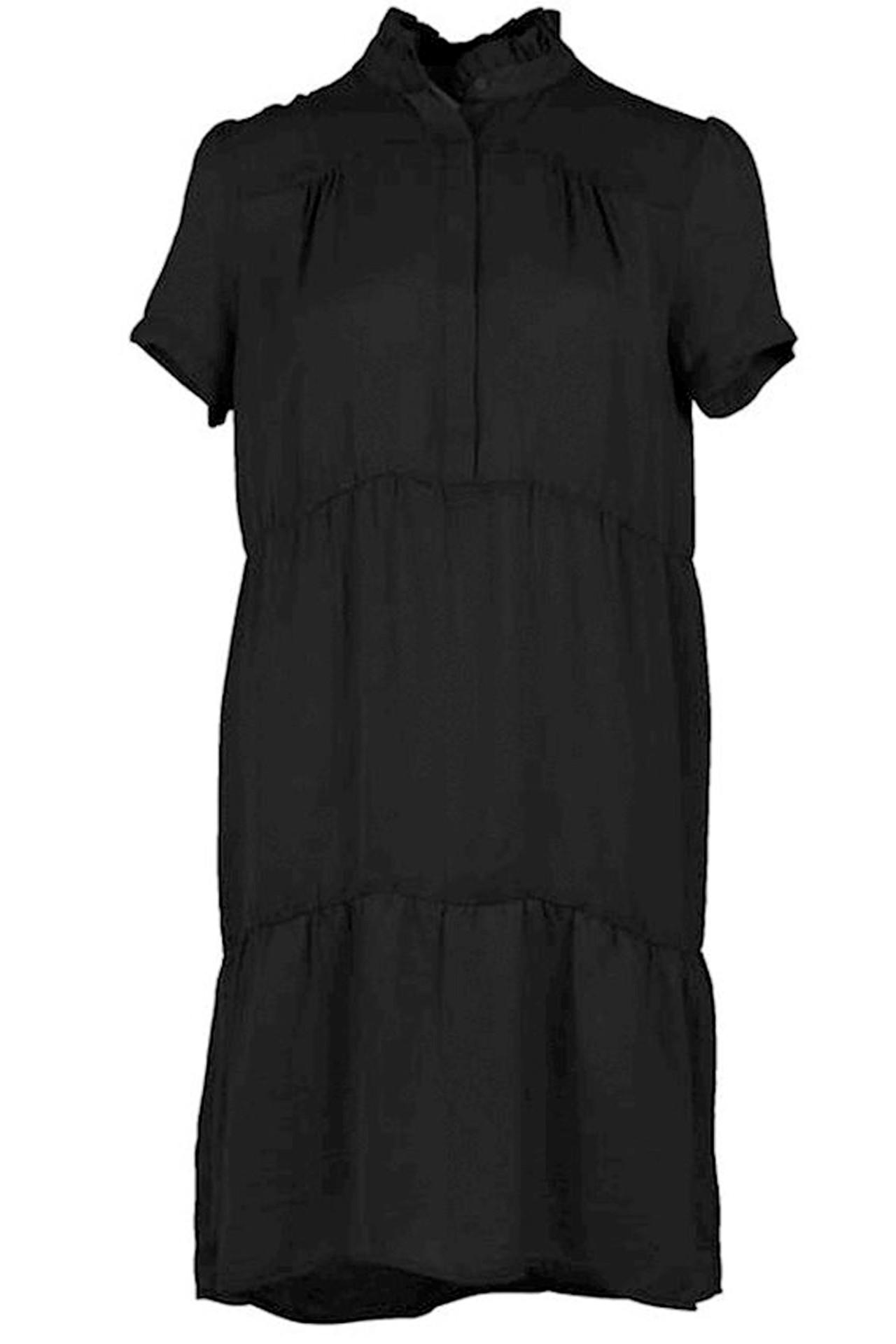 neo noir kjole sort