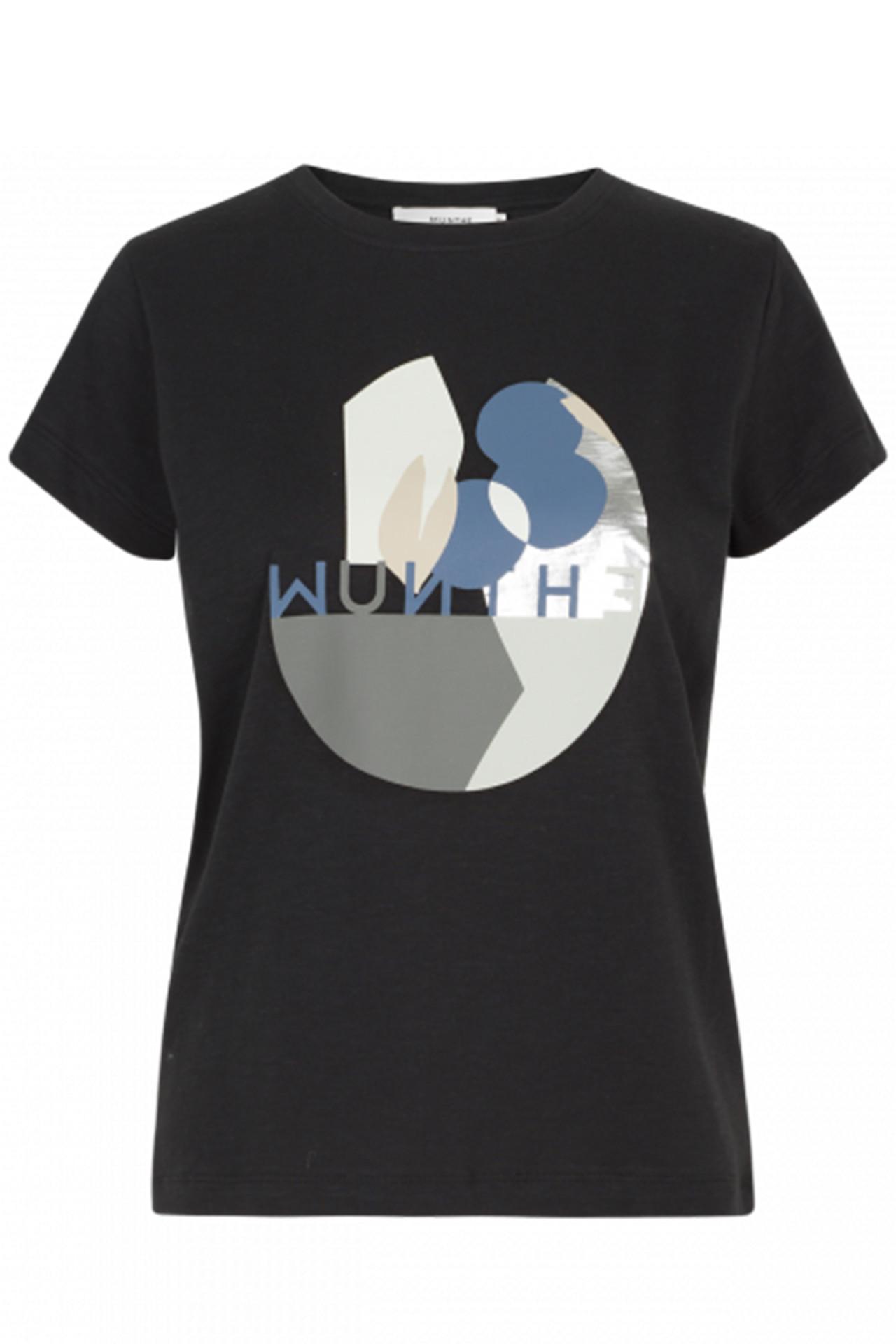 Køb Munthe | Emotional Skjorte (Sort, Blå)