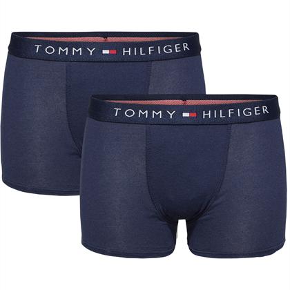 TOMMY HILFIGER BASIS TRUNK 2 PAK - Navy /Navy