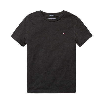 TOMMY HILFIGER BASIC T-SHIRT BL