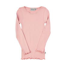 Wheat RIB LACE LS T-SHIRT 0151-007