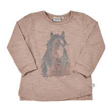 Wheat HORSE FACE T-SHIRT 4173-021