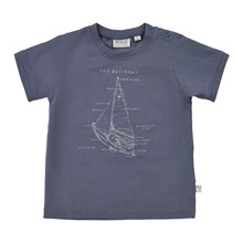 Wheat SAILBOAT T-SHIRT 6078-012