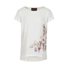 CREAMIE T-SHIRT SS EMBROIDERY 820699